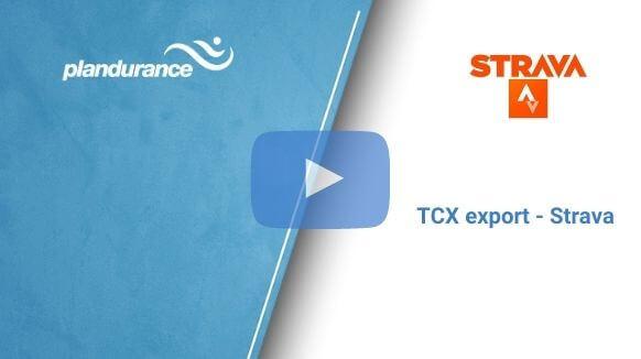 TCX export – Strava