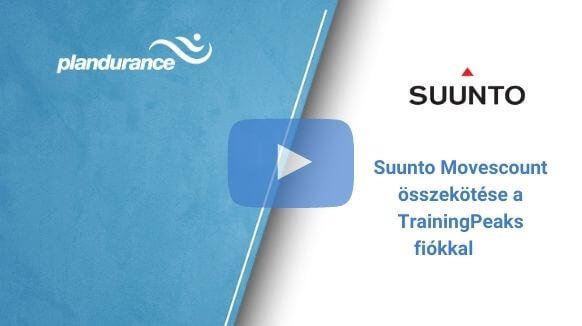 Suunto Movescount összekötése a TrainingPeaks fiókkal