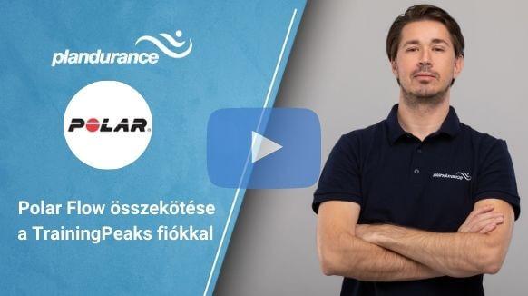 Polar Flow összekötése a TrainingPeaks fiókkal