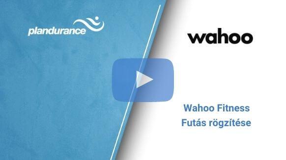 Wahoo Fitness – Futás rögzítése