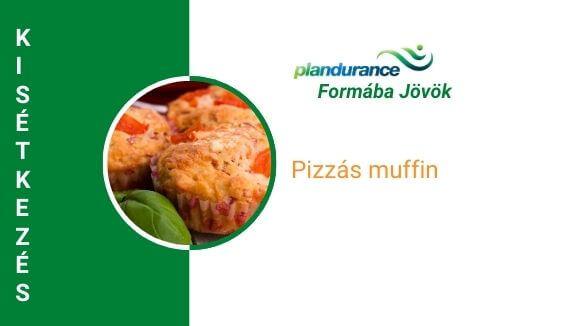 Pizzás muffin kisétkezés recept