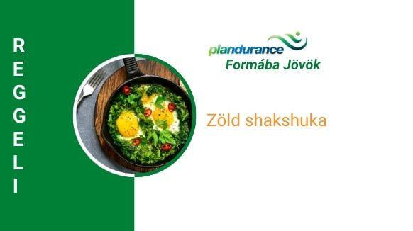 Zöld shakshuka reggeli recept