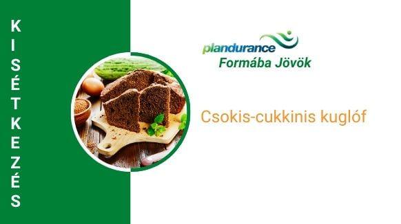 Csokis-cukkinis kuglóf kisétkezés recept