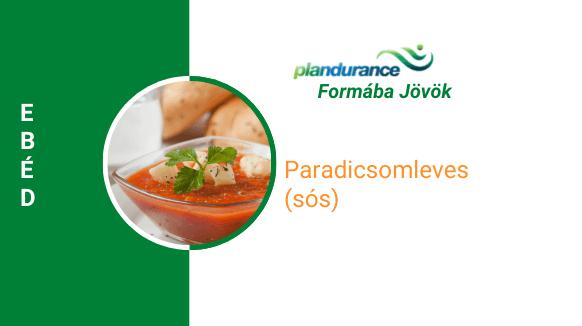 Paradicsomleves (sós) Ebéd