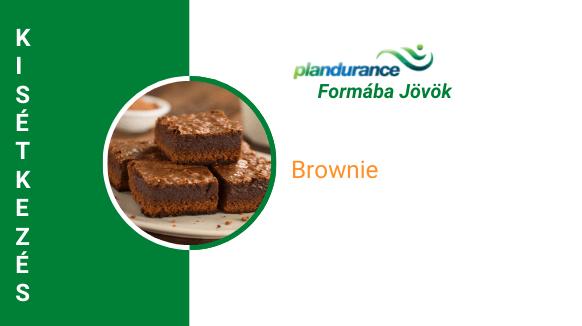 Brownie (vegán) Kisétkezés
